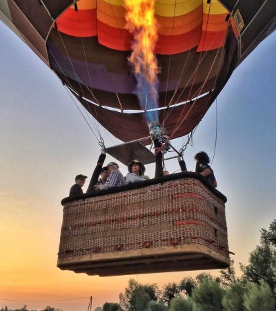 SUNSET   balloon   flight   (only July and August)