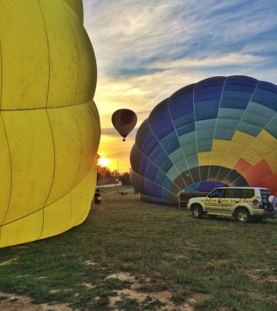 Balloon flight for a closed group of 7-8 people